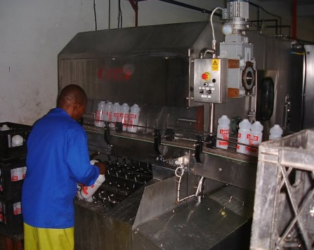 Plastic Bottle Washers In Stainless Steel